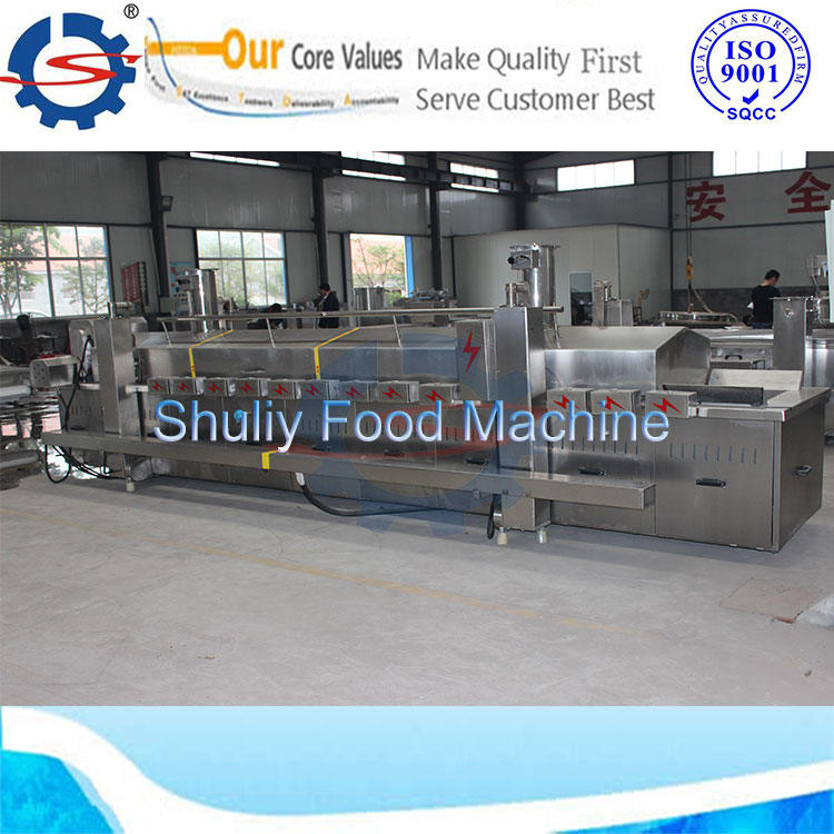 Continuous fryer, french fries machine,fried chicken equipment