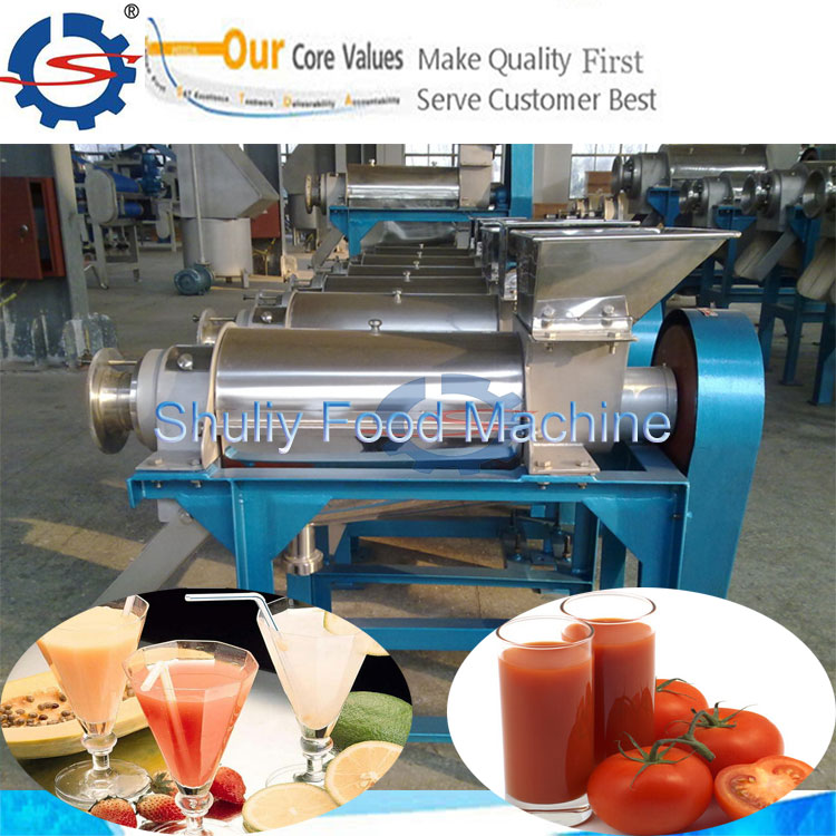 fruit and vegetable screw juice press machine