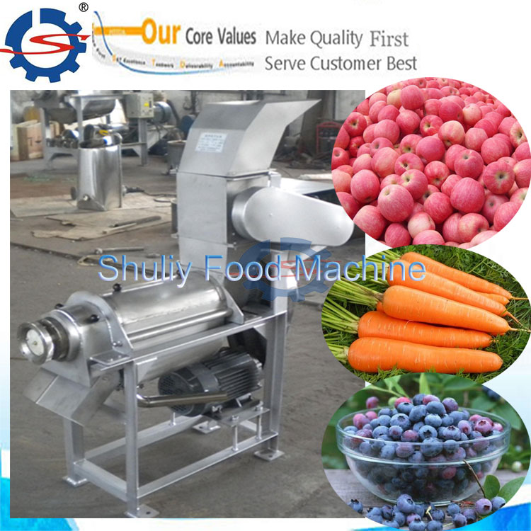 fruit juice machine with crusher / carrot juice press machine with crusher