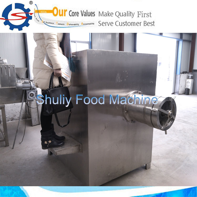 frozen meat grinding machine meat with bone grinding machine