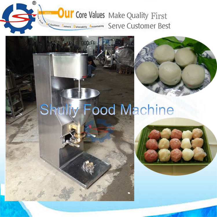 meat ball making machine for fish meat beef meat